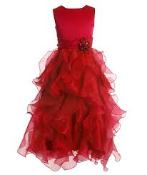 Red And Black Party Dresses Amazon Com Fairy Couple U0027s Ankle Length Cascading Layered