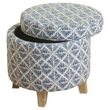 Homepop Storage Ottoman Cole Classics Storage Ottoman Flared Wood Leg Homepop Target