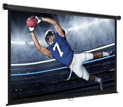 amazon com vonhaus 80 inches widescreen projector screen u2013 80