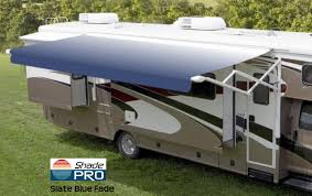 Rv Awning Covers Rv U0026 Camper Awnings Manual U0026 Electric Shadepro Inc