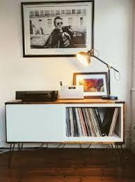 Lp Record Cabinet Furniture Mid Century Teak Vinyl Lp Record Cabinet By Elizabethdotdesign