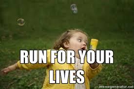 Running Meme - meme running girl 28 images 28 best images about humor little