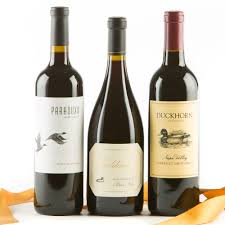 wine set gifts duckhorn vineyards 90 point wine trio wine