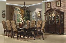 traditional dining room sets briliant tuscany traditional formal dining room set table chairs