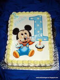 baby mickey 1st birthday cake erik future kids party stuff