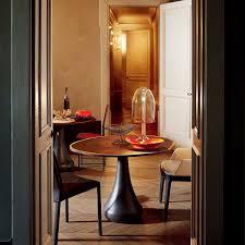 bora bora bistro table oak by cattelan italia yliving bora bora oak bistro tables with isabel low back side chair