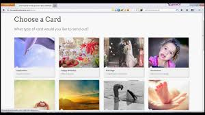 how to send an ecard on for free
