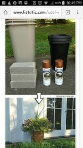 Cheap Tall Planters by 30 Low Budget Makeovers You Could Do With Spray Paint Outdoor