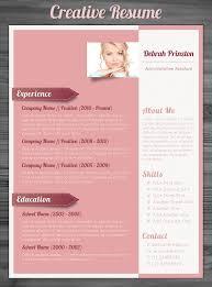Creative Resume Templates Free Word Creative Resume Template Resume Cv