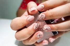 nail art gel manicure water nail polish design beautiful lcn pink