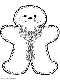 gingerbreadman coloring page coloring page gingerbread man gingerbread man