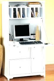 White Computer Desks For Home Small White Computer Desk Eatsafe Co