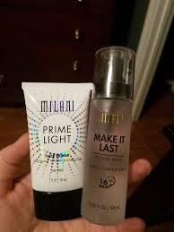 milani primer and setting spray mini review makeupaddiction