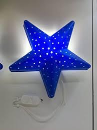 applique chambre d enfant ikea applique murale en forme d étoile pour chambre d enfant bleu