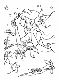mermaid to color the mermaid print out and color away