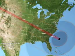 Great America Map by Preparing For The Great American Eclipse Of 2017 Cbs News
