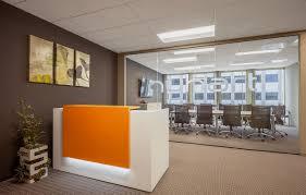 Modern Reception Desks by Modern Office Reception Backdrop Design Curved Modern Reception