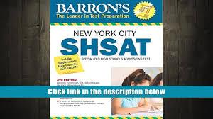 read online barron s shsat 4th edition new york city specialized