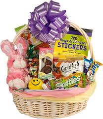 filled easter baskets top creative treats for easter morning with kids easter baskets