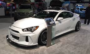 bisimoto genesis coupe hyundai brings six wicked rides to las vegas
