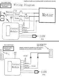 sears craftsman garage door opener wiring diagram wageuzi