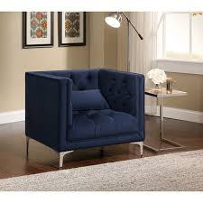 Overstock Armchair Republic Design House Anna Button Tufted Armchair Free Shipping