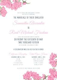 invitation maker online 34 best floral wedding invitations images on