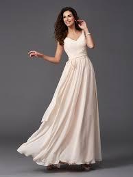 wedding dresses with sash ribbon a line princess straps sash ribbon belt sleeveless floor length