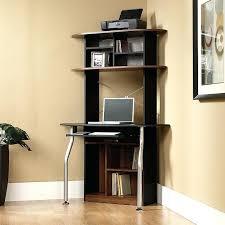Corner Computer Desk With Shelves Computer Desk Espresso Bethebridge Co