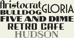 letterhead fonts font packages