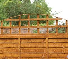 forest convex trellis fence topper gardensite co uk