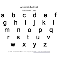 bold printable alphabet letters lowercase alphabet charts in pdf normal bold italic throughout