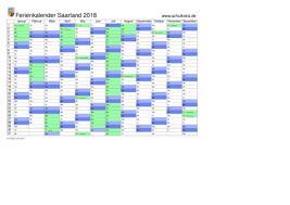 Kalender 2018 Mit Feiertagen Saarland Schulkreis De Schulferien Kalender Saarland 2018 Feiertage Ferien