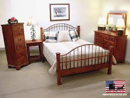 American Made Solid Wood Bedroom Furniture by Custom Amish Made Bedroom Barbos Furniture