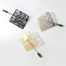 Grid Map You Are Here U0027 Map Jewelry Lets You Wear Your City U0027s Street Grid