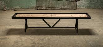 9 Foot Shuffleboard Table by A Frame Shuffleboard Table District Mills