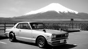 nissan 2000 1970 nissan skyline 2000 gt r in front of mount fuji 1600x900