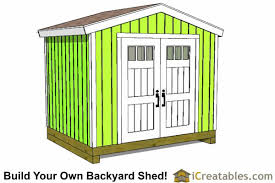 Diy Garden Shed Designs by 8x10 Shed Plans Diy Storage Shed Plans Building A Shed