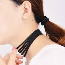 velvet collar necklace images Black velvet choker necklace multi layer collar necklace gothic jpg