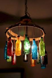 16 diy home decor ideas with glass bottles futurist architecture