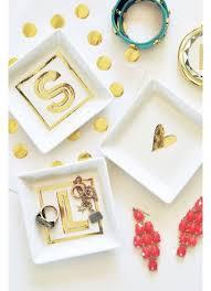Gold Monogram Ring Personalized White And Gold Monogram Ring Dish David U0027s Bridal