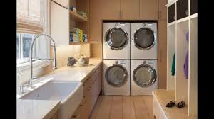Laundry Room Sink Cabinets by Laundry Sink Cabinet Youtube