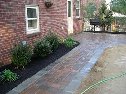 backyard paver walkway ideas home outdoor decoration