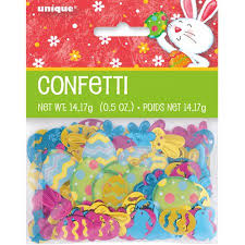 Decorating Easter Eggs Walmart by Happy Easter Bunny Confetti Walmart Com