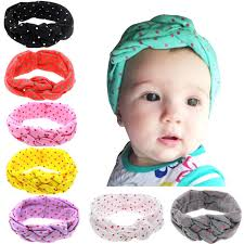 top knot headband aliexpress buy 1 x headband dot bow headband top knot
