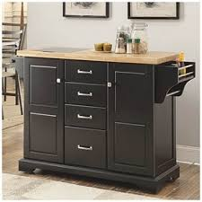 Kitchen Islands Big Lots Black 2 Door Kitchen Cart With Open Shelves At Big Lots For With