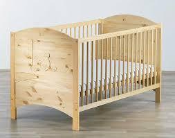 chambre enfant pin lit bébé en pin massif avec oursons schardt a acheter