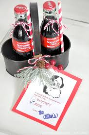 kara u0027s party ideas naughty nice holiday coca cola neighbor gifts