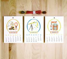 Small Desk Calendar 2015 Seattle Themed Mini Desk Calendar 2015 Por Emilyanndesigns En Etsy