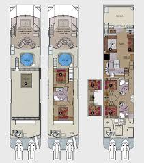 odyssey floor plan 75 foot odyssey class houseboat